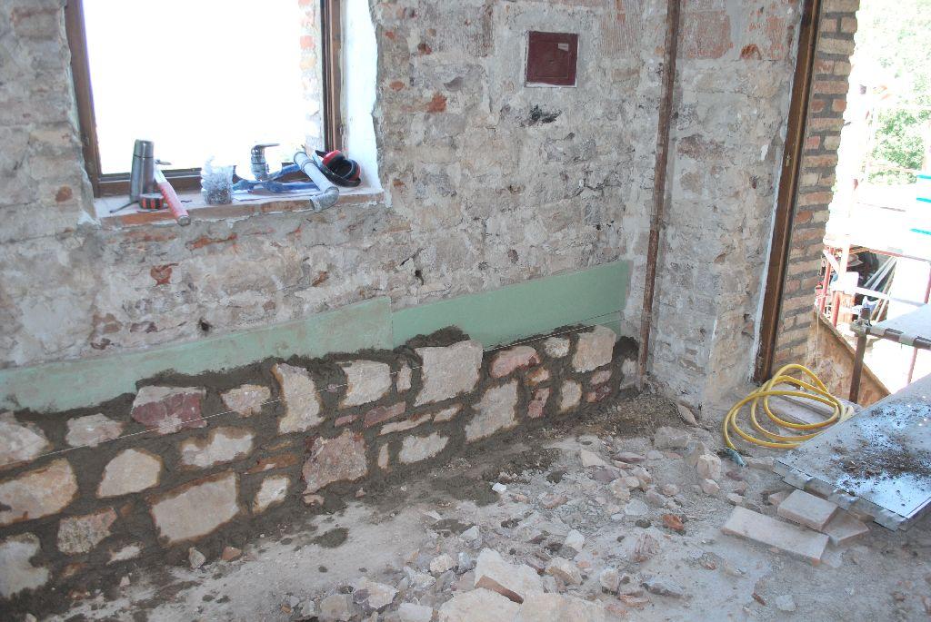 Parete esterna coibentata - Coibentare una parete interna ...